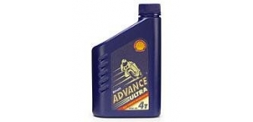 Shell Advance Ultra 4 4T SAE 10w 40 1liter