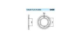 Chiaravalli - CaratCHI Zahnkranz 499-40 Zahne C (530-5-8x3-8)
