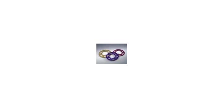 Chiaravalli - CaratCHI Alu Rohling 525 1004-38 Zahne (525-5-8x5-16)