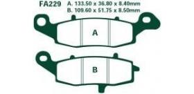 EBC brzdové platničky Standard FA229 - náhrada FA237