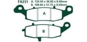 EBC brzdové platničky Standard FA231
