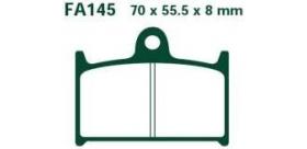 EBC brzdové platničky Standard FA145