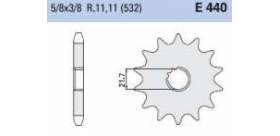 Chiaravalli - Carat sekundár 440-15 zubov K (532-5-8x3-8)
