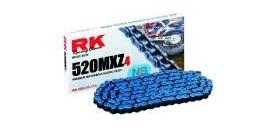 RK reťaz 520MXZ4 / článok - modrá