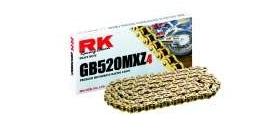 RK reťaz GB520MXZ4 / článok - zlatá