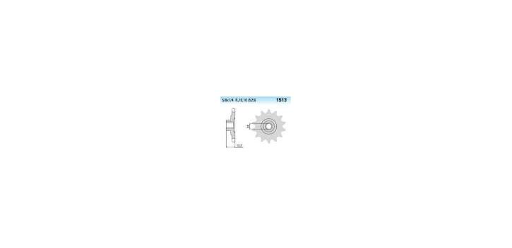 Chiaravalli - CaratCHI Ritzel 1513-16 Zahne K  (520-5-8x1-4)