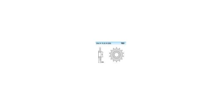 Chiaravalli - CaratCHI Ritzel 153-11 Zahne K (520-5-8x1-4)