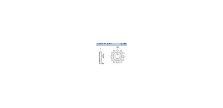 Chiaravalli - CaratCHI Ritzel 200-11 Zahne (415-1-2x3-16)