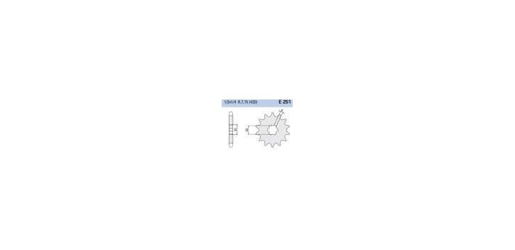 Chiaravalli - CaratCHI Ritzel 251-15 Zahne (420-1-2x1-4)