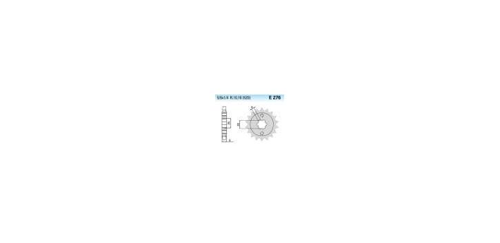 Chiaravalli - CaratCHI Ritzel 276-16 Zahne K (520-5-8x1-4)
