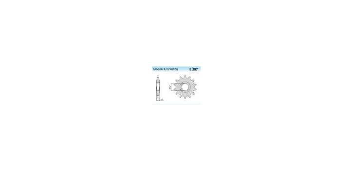 Chiaravalli - CaratCHI Ritzel 297-15 Zahne K (525-5-8x5-16)