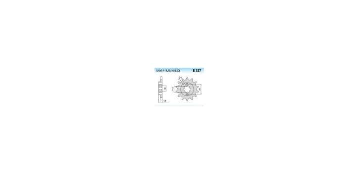 Chiaravalli - CaratCHI Ritzel 327-12 Zahne K (520-5-8x1-4)