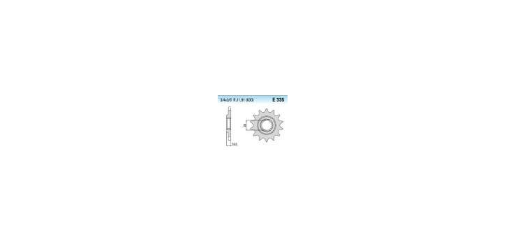 Chiaravalli - CaratCHI Ritzel 335-15 Zahne K (630-3-4x3-8)