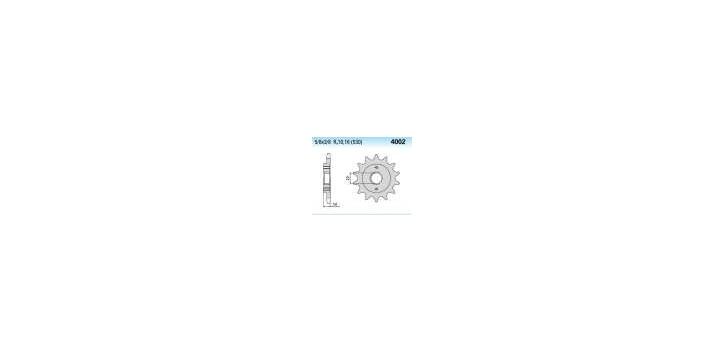 Chiaravalli - CaratCHI Ritzel 4002-15 Zahne (530-5-8x3-8)