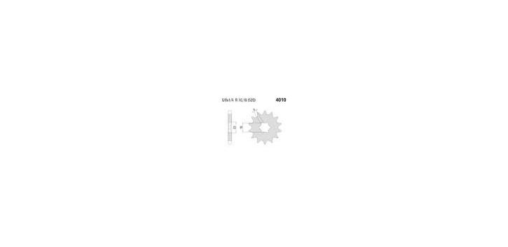 Chiaravalli - CaratCHI Ritzel 4010-13 Zahne K (520-5-8x1-4)