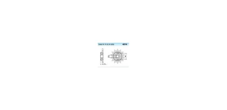 Chiaravalli - CaratCHI Ritzel 4014-15 Zahne K (525-5-8x5-16)