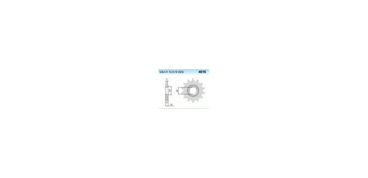 Chiaravalli - CaratCHI Ritzel 4015-16 Zahne K (520-5-8x1-4)