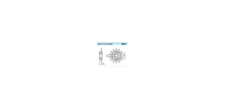 Chiaravalli - CaratCHI Ritzel 4019-15 Zahne K (520-5-8x1-4)