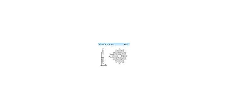 Chiaravalli - CaratCHI Ritzel 402-16 Zahne K (520-5-8x1-4)