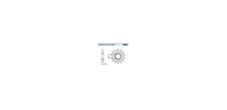 Chiaravalli - CaratCHI Ritzel 4023-15 Zahne K (525-5-8x5-16)