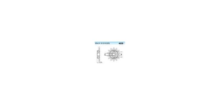Chiaravalli - CaratCHI Ritzel 4039-15 Zahne K (525-5-8x1-4)