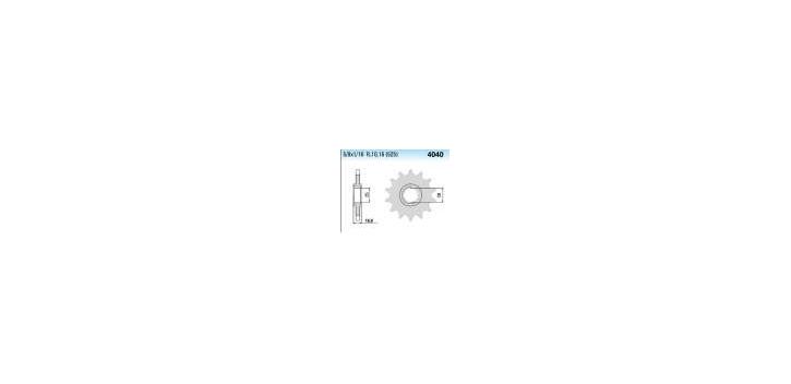 Chiaravalli - CaratCHI Ritzel 4040-16 Zahne (525-5-8x5-16)