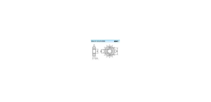 Chiaravalli - CaratCHI Ritzel 4041-15 Zahne K (520-5-8x1-4)