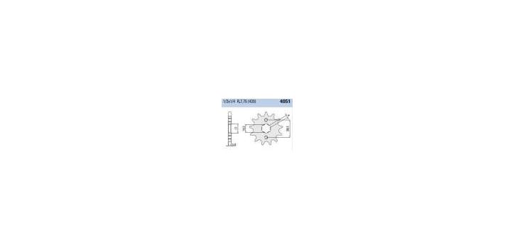 Chiaravalli - CaratCHI Ritzel 4051-11 Zahne K (420-1-2x1-4)