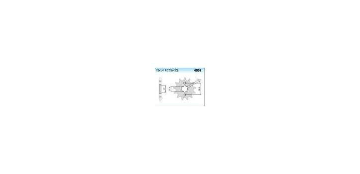 Chiaravalli - CaratCHI Ritzel 4051-13 Zahne K (420-1-2x1-4)