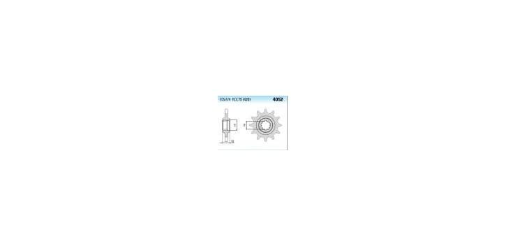Chiaravalli - CaratCHI Ritzel 4052-12 Zahne K (420-1-2x1-4)