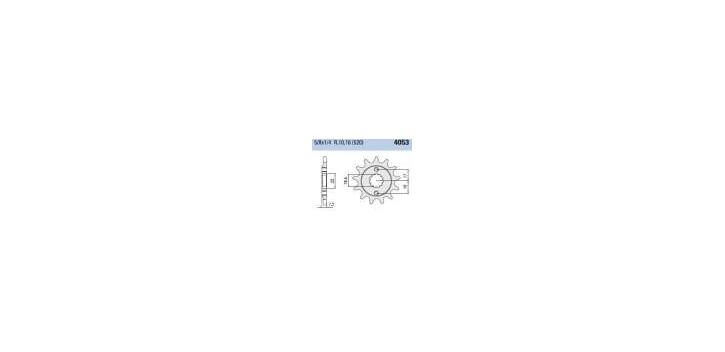 Chiaravalli - CaratCHI Ritzel 4053-14 Zahne K (520-5-8x1-4)