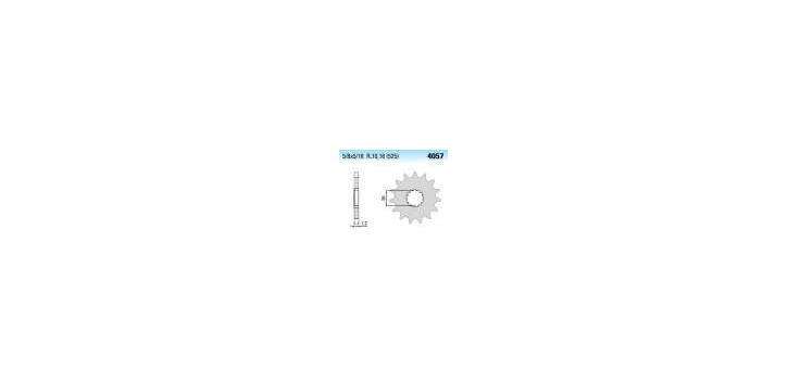 Chiaravalli - CaratCHI Ritzel 4057-16 Zahne K (525-5-8x5-16)