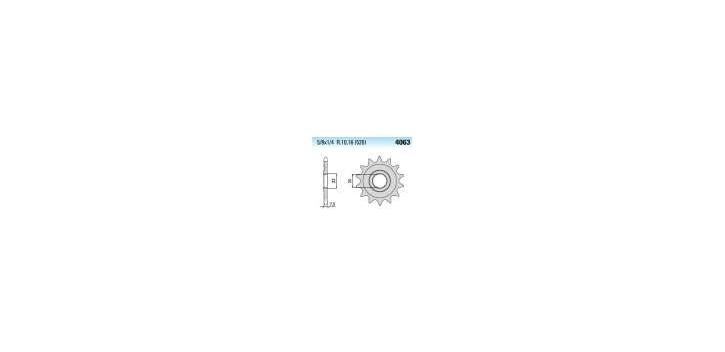 Chiaravalli - CaratCHI Ritzel 4063-14 Zahne K (520-5-8x1-4)