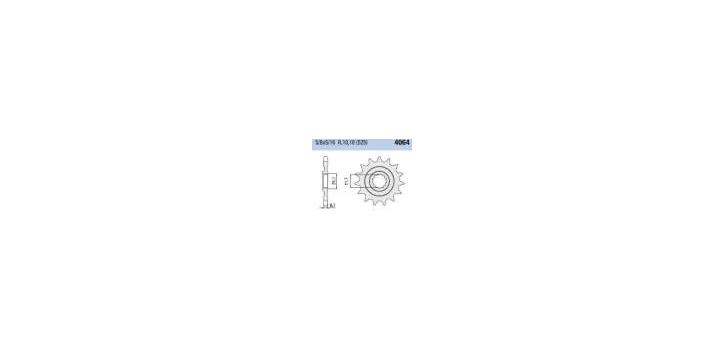 Chiaravalli - CaratCHI Ritzel 4064-16 Zahne K (525-5-8x5-16)