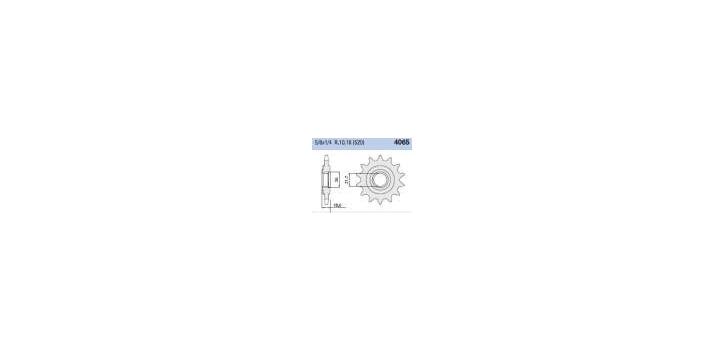 Chiaravalli - CaratCHI Ritzel 4065-14 Zahne  K (520-5-8x1-4) Z750 Z750S