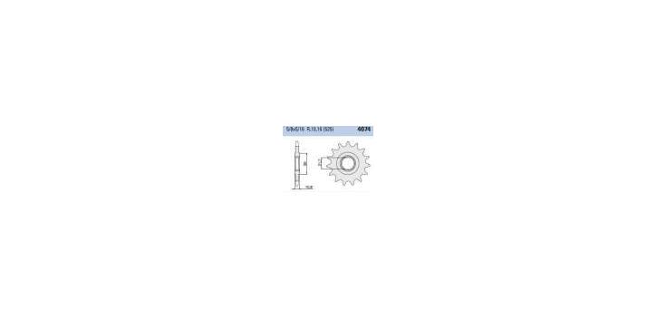 Chiaravalli - CaratCHI Ritzel 4074-16 Zahne (525-5-8x5-16)