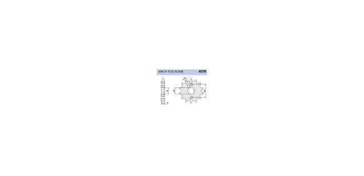 Chiaravalli - CaratCHI Ritzel 4078-13 Zahne (520-5-8x1-4)
