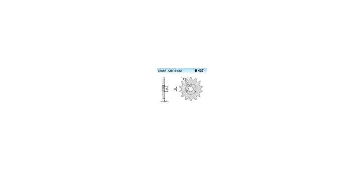 Chiaravalli - CaratCHI Ritzel 437-16 Zahne K (520-5-8x1-4)