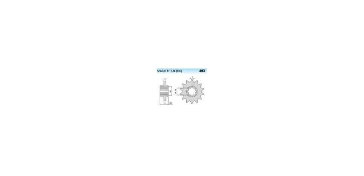 Chiaravalli - CaratCHI Ritzel 493-15 Zahne K (530-5-8x3-8)
