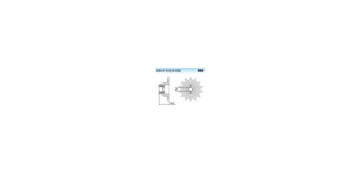 Chiaravalli - CaratCHI Ritzel 494-15 Zahne K (520-5-8x1-4)