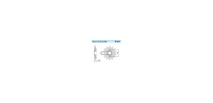 Chiaravalli - CaratCHI Ritzel 511-15 Zahne K (520-5-8x1-4)