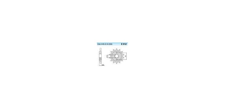 Chiaravalli - CaratCHI Ritzel 512-15 Zahne K (520-5-8x1-4)