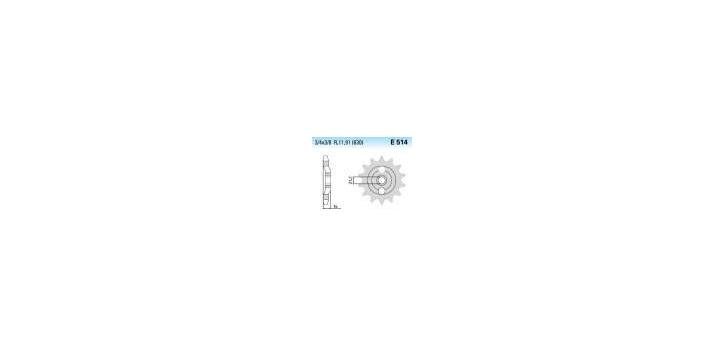 Chiaravalli - CaratCHI Ritzel 514-15 Zahne K (630-3-4x3-8)