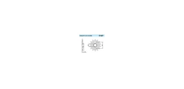 Chiaravalli - CaratCHI Ritzel 527-17 Zahne K (530-5-8x3-8)