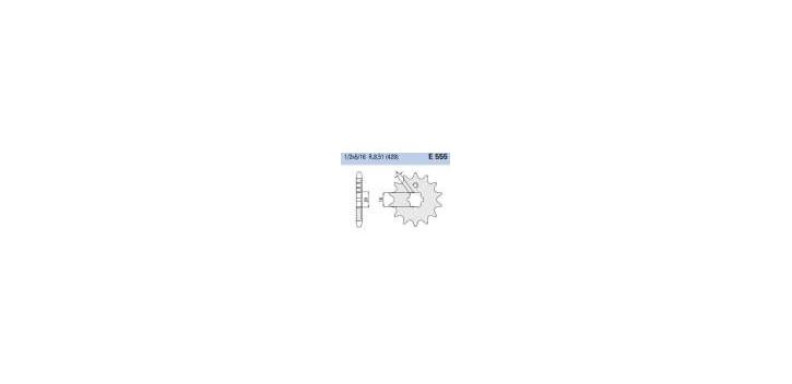 Chiaravalli - CaratCHI Ritzel 555-14 Zahne (428-1-2x5-16)
