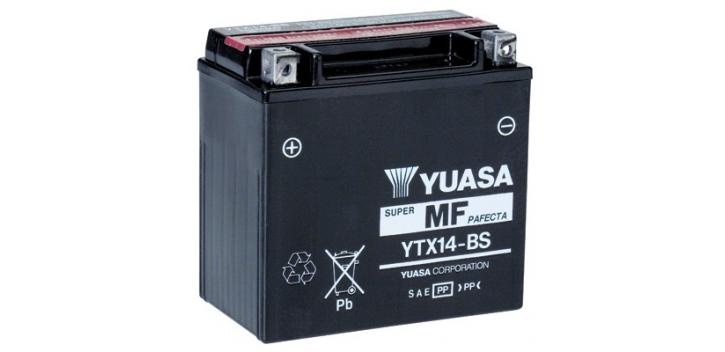 batéria Yuasa YTX14-BS