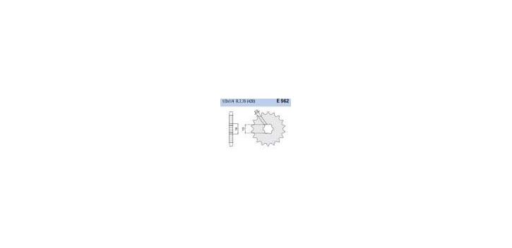 Chiaravalli - CaratCHI Ritzel 562-16 Zahne (420-1-2x1-4)