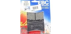 EBC brzdové platničky Standard FA123