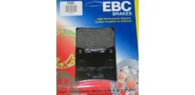 EBC brzdové platničky Standard FA88 predné