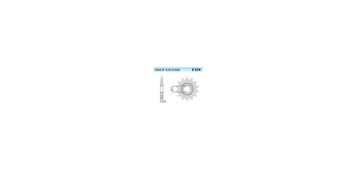 Chiaravalli - CaratCHI Ritzel 574-16 Zahne K (525-5-8x5-16) - Auslauf